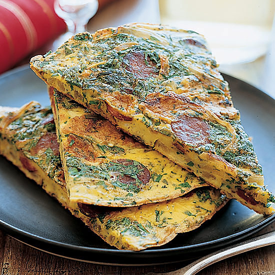 Chilean Chorizo and Herb Tortilla