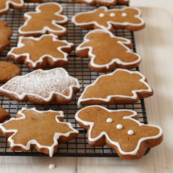 Gingerbread Cookies with Royal Icing