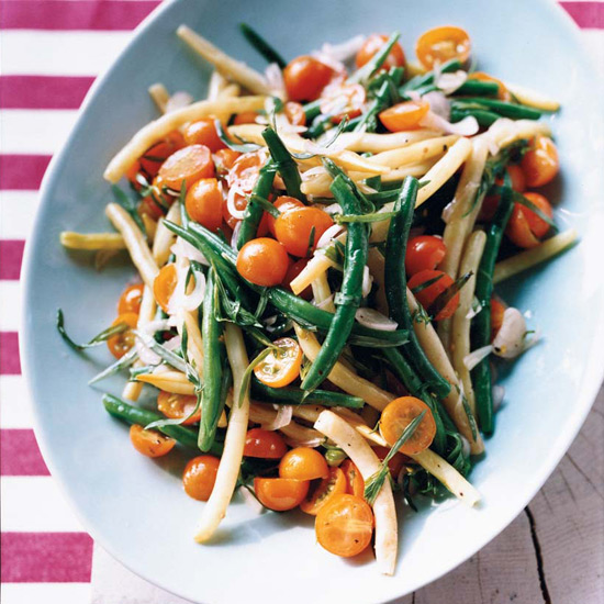 Green Bean-and-Tomato Salad with Tarragon Dressing