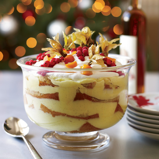 Italian Trifle with Marsala Syrup 