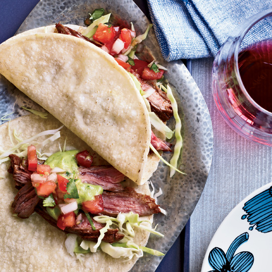 Chile-Spiced Skirt Steak Tacos
