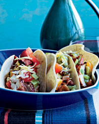 Grilled-Chicken Tacos