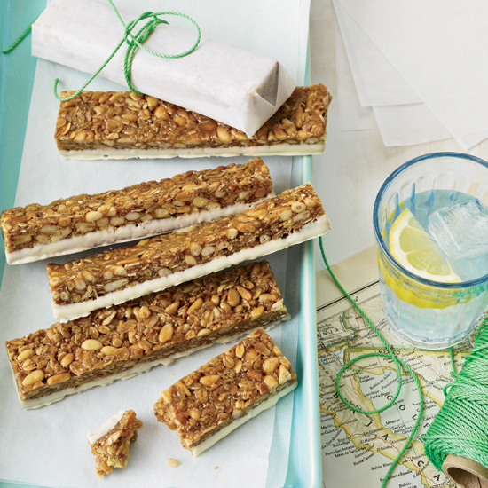 Sticky Oat-and-Pine-Nut Bars