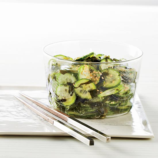 Wakame-and-Cucumber Salad