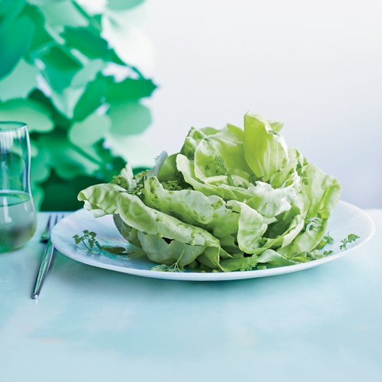 Boston Lettuce Salad with Herbs
