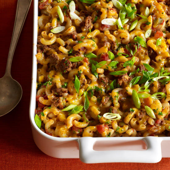 Macaroni-and-Beef Casserole 