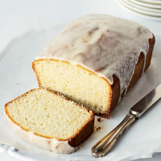 Lemon-Glazed Citrus-Yogurt Pound Cake