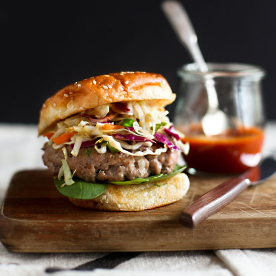 Asian-Style Pork Burgers