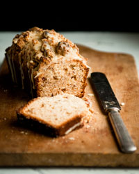 Date Quick Bread with Pecan Streusel