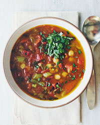 Chickpea and Lentil Soup Recipe - Quick From Scratch Soups & Salads | Food & Wine
