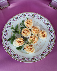 Smoked-Salmon Deviled Eggs Recipe