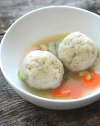 Passover Matzoh-Ball Soup