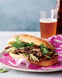 Grilled-Pork Banh Mi Recipe