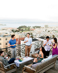Summer Rooftop Grilling Party Menu