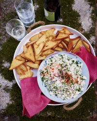 Crab Salad with Paprika-Scallion Mayonnaise Recipe