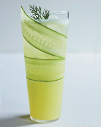 Cucumber-Lemonade Mocktail Recipe Recipe
