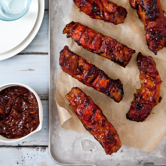 Apple And BBQ Sauce Baby Back Ribs Recipes — Dishmaps