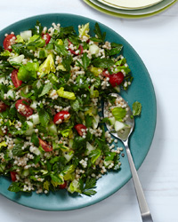 Four-Herb Tabbouleh Recipe