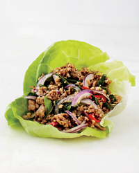 Pork Larb Lettuce Wrap Recipe Recipe