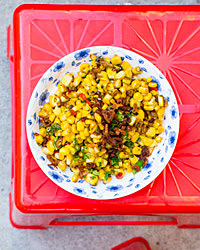 Butter-Braised Corn with Dried Shrimp Recipe