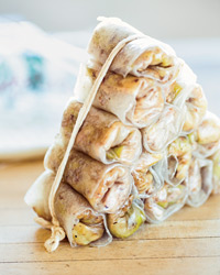 Crispy Pork, Shrimp and Cabbage Imperial Rolls Recipe