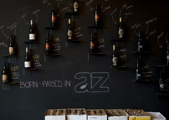 Best New Wine Destinations: AZ Wine Merchants; Scottsdale, AZ