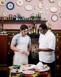 David Guas Cooks with Carlos Cristóbal Márquez