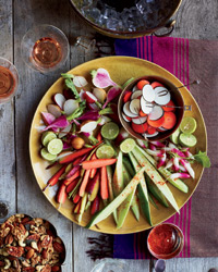 Crudités à la Mexicaine Recipe