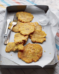 Fried Green Plantains