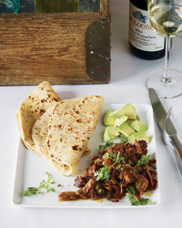 Pork Carnitas with Garlic and Orange Recipe