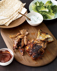 Slow Roasted Lamb Shoulder with Homemade Harissa Recipe