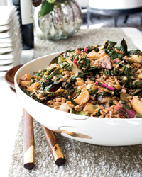 Farro Salad with Turnips and Greens Recipe