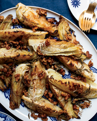 Roasted Cabbage with Warm Walnut-Rosemary Dressing Recipe - John Adler ...