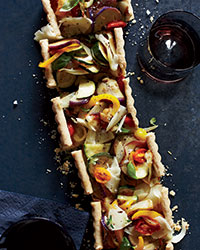 Provençal Vegetable Tart Recipe