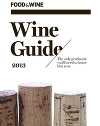 F&W's Wine Guide 2013