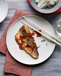 Crispy Fish with Sweet-and-Sour Sauce Recipe