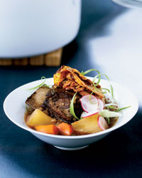 Short Rib Stew with Caramelized Kimchi Recipe