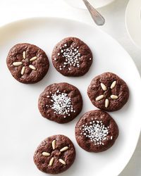 Chocolate Amaretti Cookies