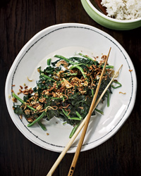 Asian Stir-Fried Spinach Recipe