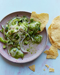 Scallop Ceviche with Aguachile Recipe