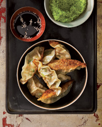 Shrimp-and-Shiitake Gyoza