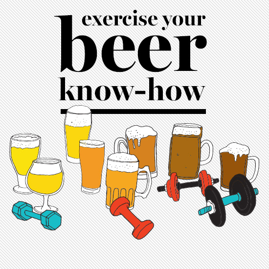 Beer Tasting Workout