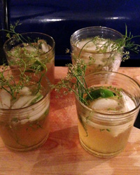 Coriander Seed Cocktail