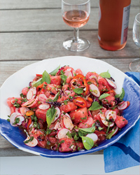 Thai-Style Radish and Watermelon Salad