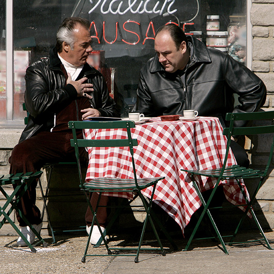 Cooking Advice from Criminals: The Sopranos