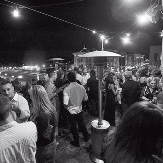 Napa After Dark: Rooftop bar at The Thomas