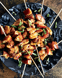 Filipino Chicken Adobo Skewers
