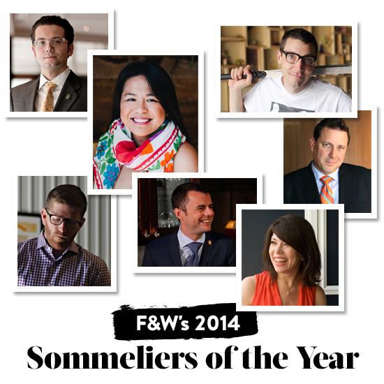 Announcing F&W's 2014 Sommeliers of the Year