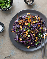Garbage Stir-Fry With Curried Cabbage Recipes — Dishmaps