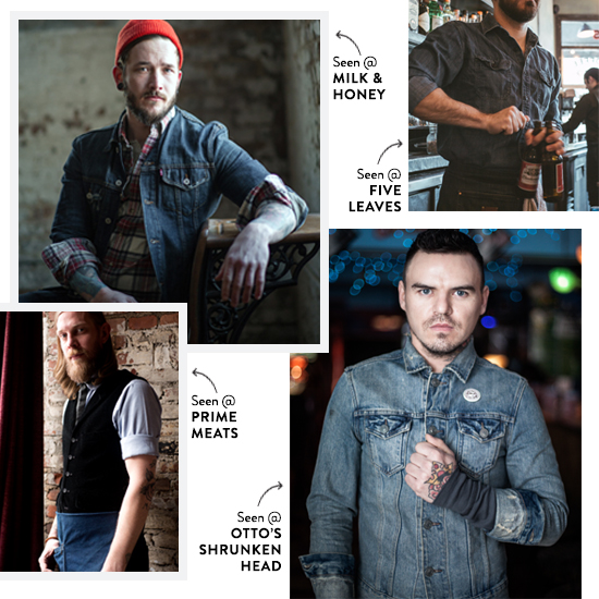 America's Best Bartenders are Crazy for Denim